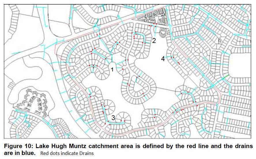 Lake Hugh Muntz Catchment