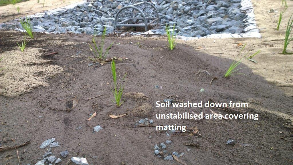 soil over drain